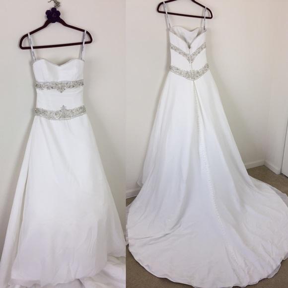 Henry Roth Kleinfeld Dresses   Rhinestone Wedding Gown   Poshmark